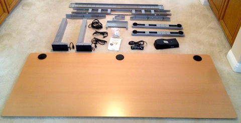 GeekDesk Parts with Desktop