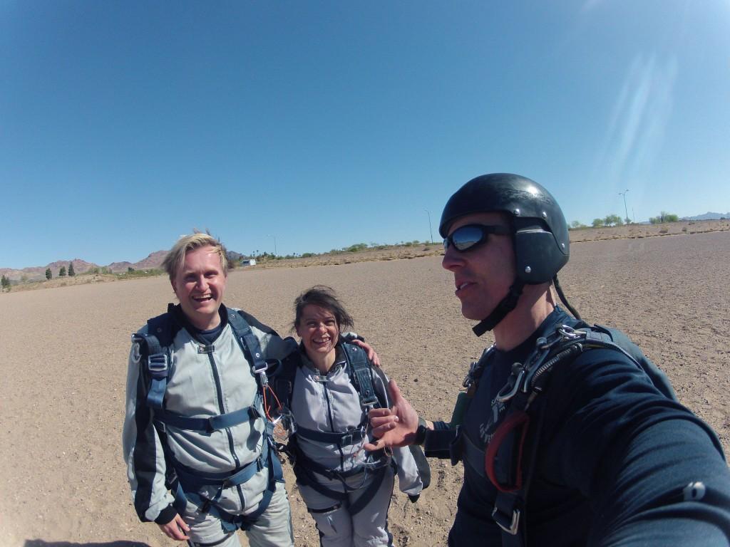 Skydiving 2014