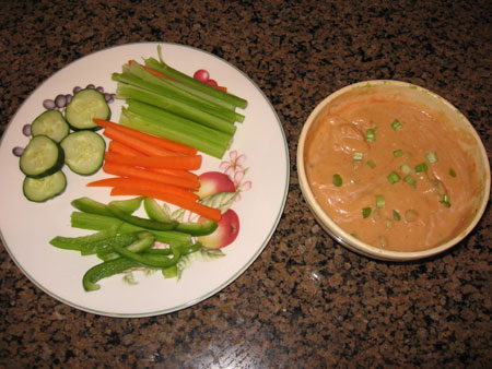 Raw food diet day 19 dinner
