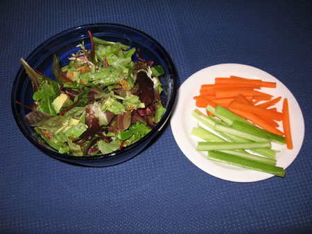Raw food diet day 23 lunch