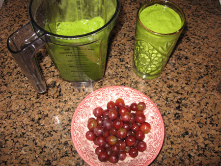Raw food diet day 27 breakfast