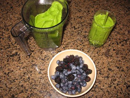 Raw food diet day 30 breakfast