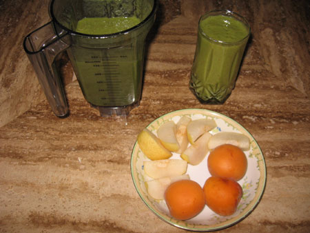 Raw food diet day 8 breakfast
