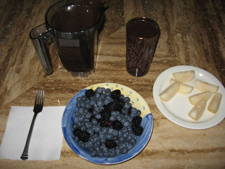 Raw food diet day 9 breakfast