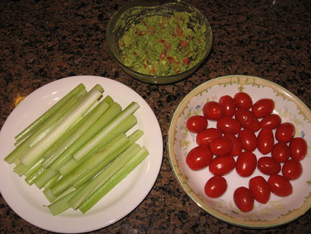 Raw food diet day 9 lunch